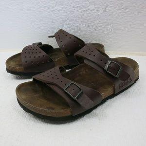 Birkenstock Perforated Birko-Flor Birki's Sandals